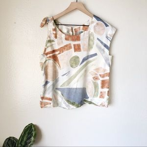 Anthropologie | Nailah Asymmetrical Blouse